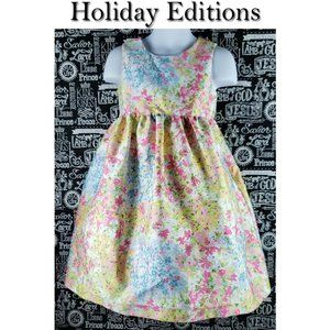 Holiday Editions Floral Dress Size 4T